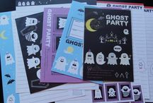ghost and monster / all about cute kawaii ghost and monster