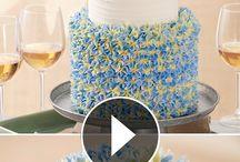 Zdobení dortů video