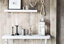 Natural,Wood,Metal & Clay
