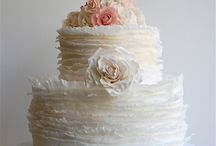 wedding: cakes. / Just like the wedding gown, your wedding cake should be a show stopper!