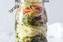 Syrade grönsaker och liknande