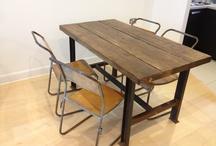 Earthwood reclaimed tables