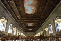 Iconic Libraries and Bookshops / by Samuel Fortunato
