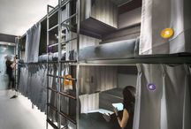 Hostels/Glampacking