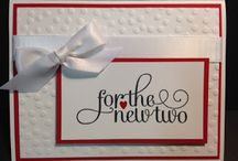 """""""For the New Two""""  Stampin' Up!"""