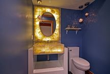 Bathroom and powder room / Our gallery ideas of bathrooms Bathroom interior Bathroom design