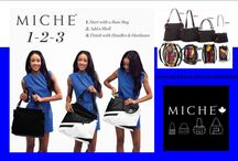 Lucie's Fashion: Independent Miche Canada representative / Miche is all about accessibility, interchangeability, and self expression. Easily change the look of your favorite bag while keeping your contents inside!