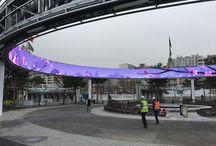 Parc des expositions Porte de Versailles / Ecran geant LED circulaire