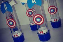 Festa Capitão América - idéias
