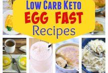 Egg fast recepten
