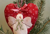 Snow Happy Hearts / Free pattern from Bunny Hill Designs