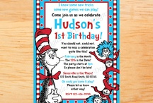 Dr. Seuss Themed Kids Party / by Sarah Event Planner (Sarah Sofia Productions)