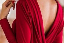 Dame in rooi/Lady in red