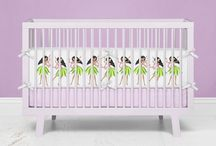 Hula Girls Baby Bedding