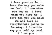 L.O.V.E. / Everything I love