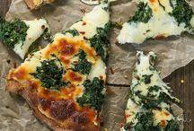 Pizza und Flammkuchen