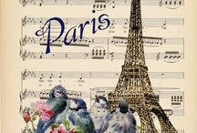 decoupage paris &