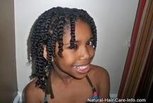 Amelia Hair Styles  / Natural Hair Care for Amelia