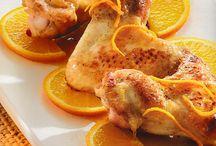 Φτερούγες κοτόπουλου με πορτοκάλι / Νοστιμότατες φτερούγες κοτόπουλου