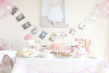 Vintage baby birthday / Gracie's first bday!  / by Kelsey Jones Finney