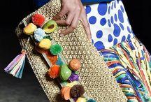 crochet emballished bags