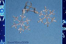 korálky a šperky - naušnice
