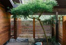 Internal garden/light wells