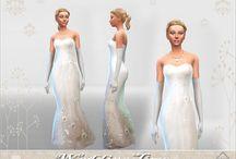 Robe de Mariée - (Sims 4)