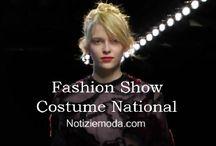 Costume National / Costume National collezione e catalogo primavera estate e autunno inverno abiti abbigliamento accessori scarpe borse sfilata donna.