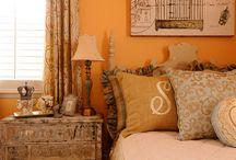 Dormitorios Naranja