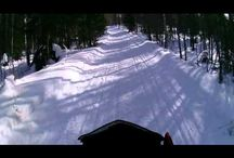Snowmobiling / Snowmobiling is the best