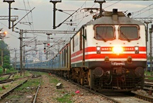 Electric Hauled Passenger Trains / Passenger Trains Hauled by Electric Locomotives