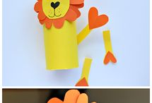 Toilet paper rolls crafts