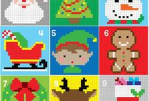 Wzory Boże Narodzenie / Crochet Christmas patterns