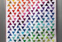 rainbow quilt / patchwork tęczowy