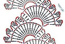 Szydełkowe schematy/Crochet pattern
