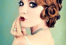 1920's inspired make up