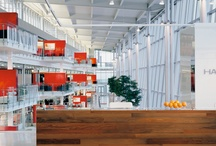 Modern Office Interiors / A look at some transitional and modern office interiors