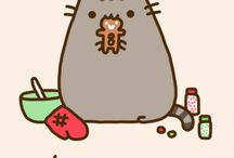 Pusheen& Sheldon