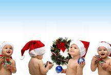 Tablón Navideño / Tablón dedicado a todo lo relacionado con la navidad, la ropa y colores que asociamos con estas fechas, fotografías de arboles regalos, chimeneas ..etc