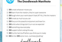 DOODLEWASH SUPPLIES / Tools of the doodlewash trade