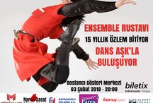 Gösteri & Etkinlik Takvimi (TÜRKİYE& Y. DIŞI)