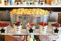Movie night birthday party ideas