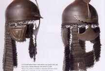 Indian (Southern) helmet, this helmet is similar to the Ottoman chichak helmet