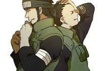 Asuma and Shikamaru