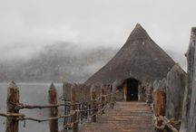 Scottish Crannog Center / This Gold Star Visitor Attraction can be found at Kenmore, just 6 miles from Balnearn House (www.balnearnhouse.com), Aberfeldy.  A crannog is a type of ancient loch-dwelling found throughout Scotland and Ireland dating from 2,500 years ago. An important part of our heritage, many crannogs were built out in the water as defensive homesteads and represented symbols of power and wealth. The Scottish Crannog Centre features a unique reconstruction of an early Iron Age loch-dwelling.