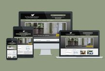 Home Improvements and Services Website Design / Contractor and home services company website designs to be used as template or inspiration. Painters, Plumbers, Electricians, HVAC, Home Remodeling, Kitchen and Bathroom remodeling companies, all can get a site like these with the online website builder at AllyOne.net