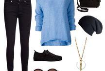 Outfits / Tyto piny budou o módě
