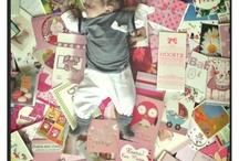 Fotoboek ideeën / Leuke ideetjes voor in het fotoboek. Pagina voorbeelden, newborn foto's.