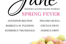 HWJ: Spring Fever / Book pics inspired by Holidays With Jane: Spring Fever